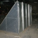 76 Triangular HVAC Duct