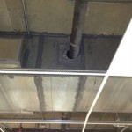 90 Cut Thru Duct for Pipe